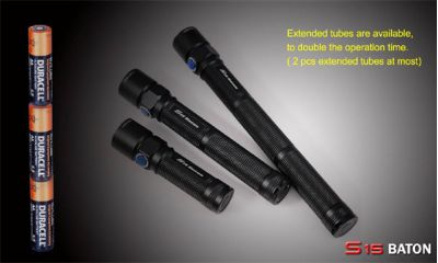 Battery Extender for Olight S15 LED Torch