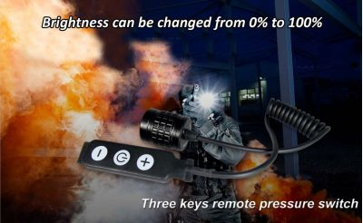 Olight 3 Keys Remote Pressure Switch