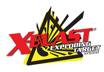 X-blast exploding shooting target