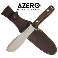 Azero Ebony Wood Hunting Knife
