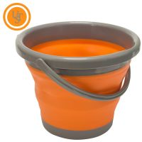 FlexWare Orange Collapsible Bucket