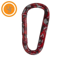 Red Camo Carabiner