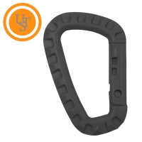Black Tactical Carabiner