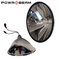 "Pre-Focused 9"" HID Spotlight Reflector"