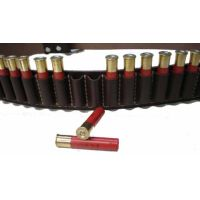 12g Leather Ammo Belt