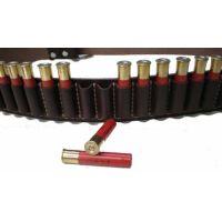12g Leather Ammo Belt
