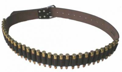 .30cal Leather Ammo Belt